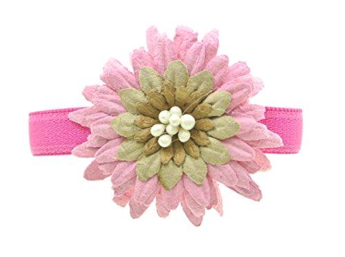 clarigo, Armband, Armreif, pink, Blüte, Gummiband, Hochzeit, Kommunion, Blume
