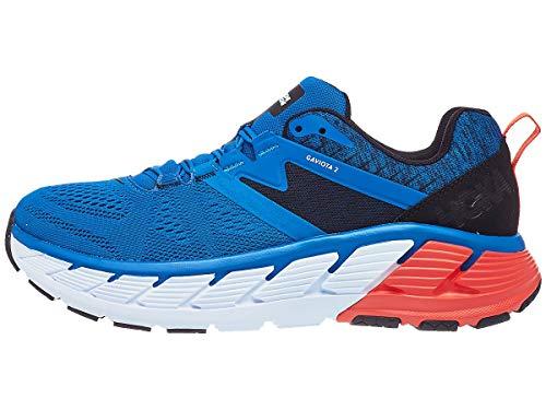 HOKA ONE ONE Mens Gaviota 2 Walking Shoe, Imperial Blue/Anthracite, 8.5