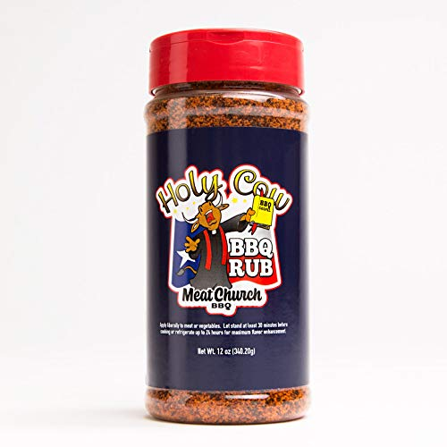 5. Meat Church Holy Cow BBQ Rub and Seasoning for Meat and Vegetables, Gluten Free