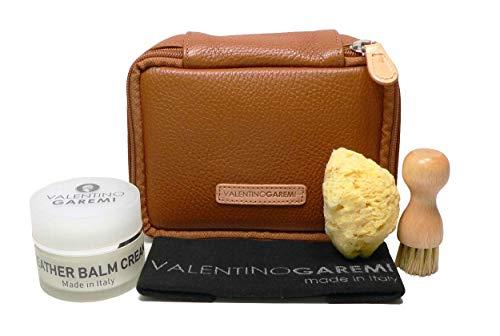 Valentino Garemi Luxus Lederpflegeset - nährend und konditioniert - Made in Italy