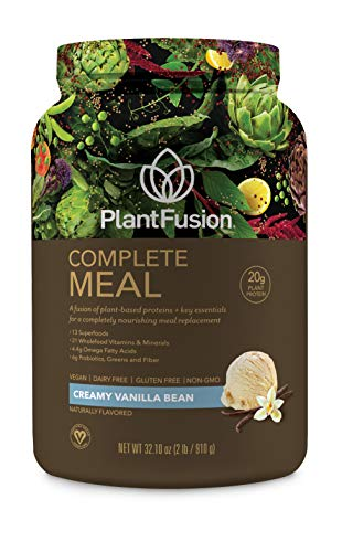 PlantFusion Complete Meal All Plant Based Pea Protein Powder | Meal Replacement Shake