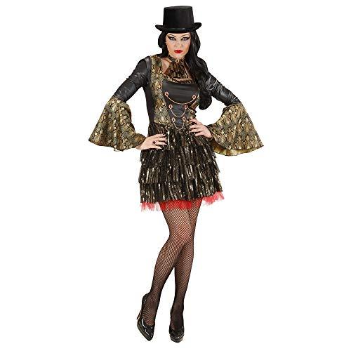 Dames gotische vampier kostuum kleine UK 8-10 voor Halloween Fancy jurk