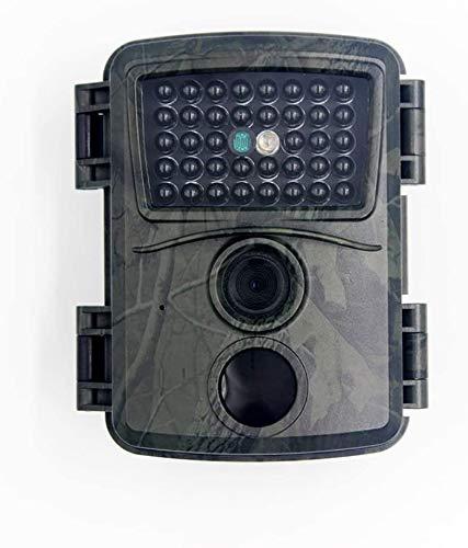 PUZOU Cámara de caza 1080p con detector de movimiento infrarrojo, visión nocturna hasta 20m, 12 MP IP66 impermeable para exteriores (GRIS)