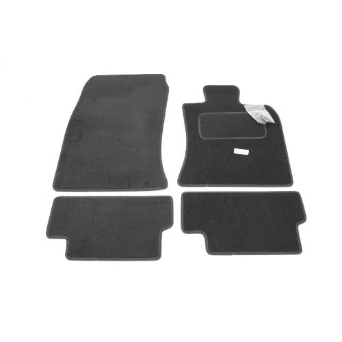 06-14 RUBBER DRIVERS FLOOR CAR MAT TAILORED 2 Clip NOT CLUBMAN MINI