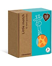 Clementoni - 16252TR - Play For Future - Little Match Puzzle - Hayvanlar, eğitici oyuncak