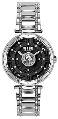 Versus Versace Damski analogowy zegarek kwarcowy z bransoletką ze stali nierdzewnej VSPHH0520
