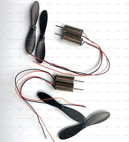 XUSUYUNCHUANG 4 Series DC 3.7V Micro 7 mm * 16 Motor de...