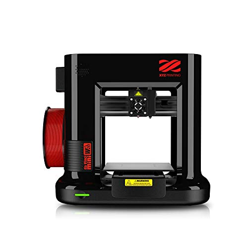 XYZ Printing da Vinci mini w 3D printer (fully assembled), Wireless, FREE for: £12 300g PLA filament, £15 maintenance tools, modelling software, and video tutorials, 15x15x15cm Built Vol.