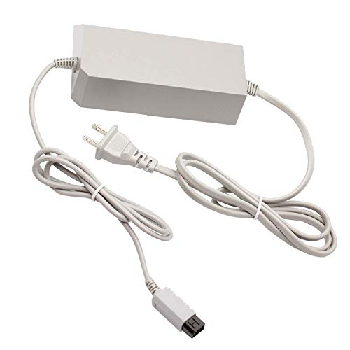 Console Charger for Wii , AC Power Adapter Supply Cable Cord for Nintendo Wii Console (Not for Nintendo Wii U Console)