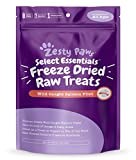 Freeze Dried Salmon Filet Treats for Dogs & Cats - with Pure Raw & Wild Caught Pacific Sockeye Salmon Fish - Omega 3 EPA + DHA Fatty Acids for Joint & Immune Support + Skin & Coat Health - 4.4 OZ