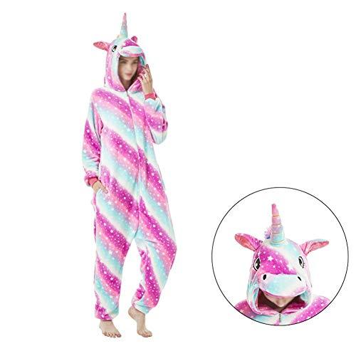CVXCVCBCG dames heren nachtkleding vrijetijdspak eendelig full-body pyjama carnaval