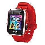 VTech Kidizoom Smart Watch DX2Montre Intelligente pour Enfants avec Double Appareil Photo Rouge