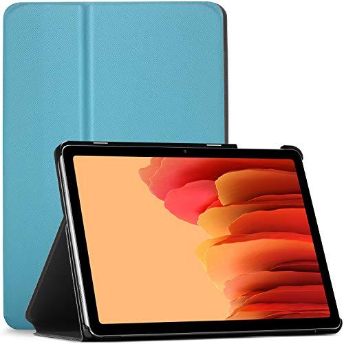 Forefront Cases Funda para Samsung Galaxy Tab A7 10.4 - Galaxy Tab A7 Case Stand - Azul Claro - Delgado, Auto Sueño Estela Función, Samsung Galaxy Tab A7 10.4 Pulgadas 2020 Funda, Case, Cover