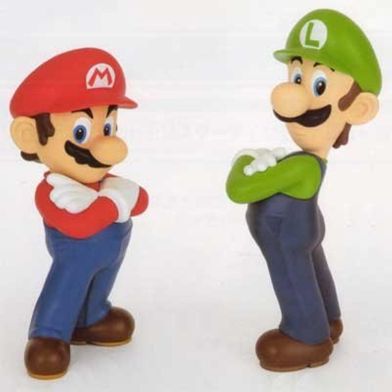 Super Mario DX Soft Vinyl Figure 6 whole set of 2