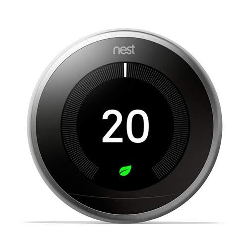 Nest Termostato 3A generazione, Acciaio Inossidabile