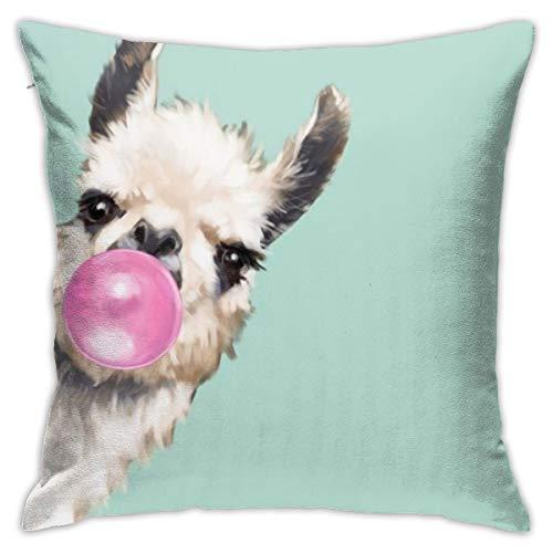 Llama Throw Pillow Covers