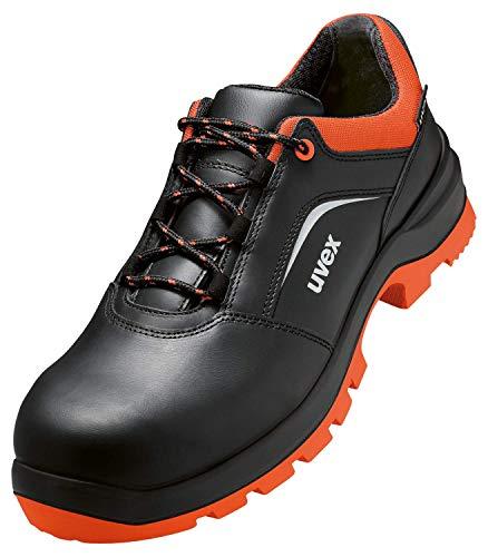 Uvex 2 Xenova werkschoenen - veiligheidsschoenen S2 SRC ESD - oranje-zwart