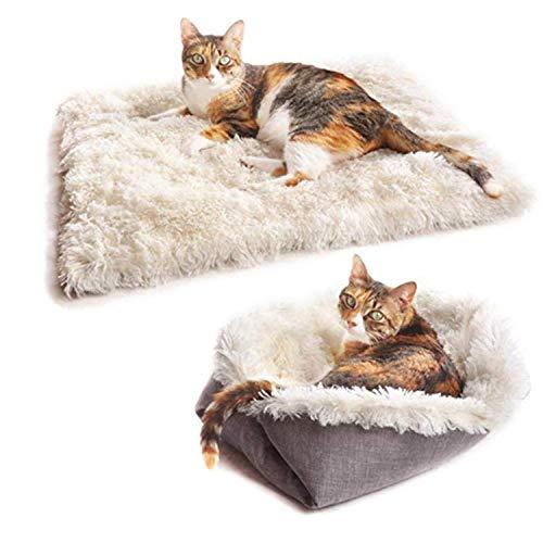 ZHAOYANG Katzenbett Decke Hundekissen Matte Flauschige haustierdecke liegekissen maschinenwaschbare Decke Katze