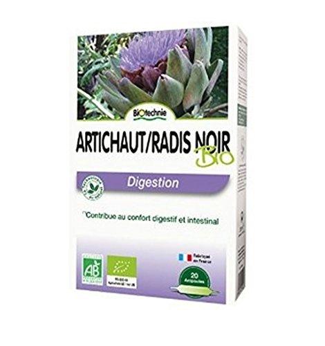 Biotechnie - Artichaut Radis Noir Digestion 20 Ampoules Biotechnie