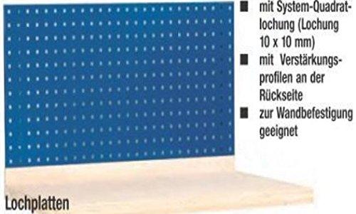Metall-Meister Lochplatte 2000 x 450 für Werkbank Werkzeughalterung