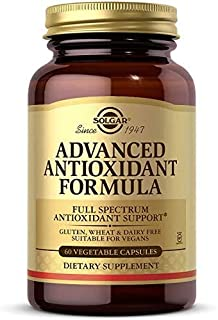 Solgar Advanced Antioxidant Formula, 60 Vegetable Caps - Full Spectrum Antioxidant Support - Contains Zinc, Vitamin C, E &...