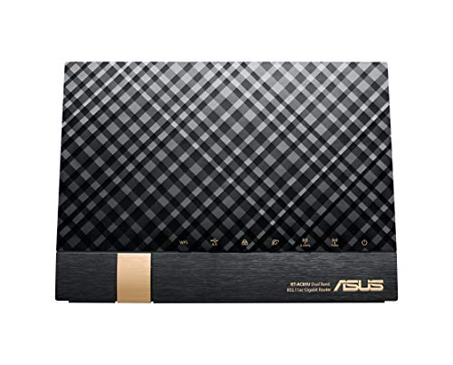 ASUS  1734+800Mbps(11a/b/g/n/ac)  スタイリッシュなデュアルバンドギガビットWi-Fi高速無線ルーター RT-A...