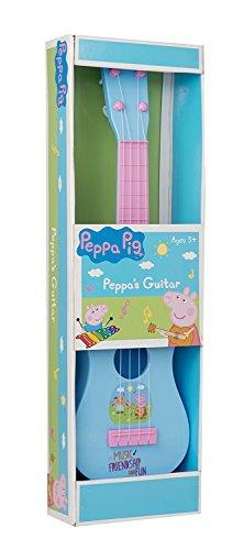 BALLOONSHOP 55cm Große Peppa Schwein Gitarre - Erstellen und Spielen Musik - Peppa Schwein Spielzeug