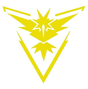 Pokemon Go - Team Instinct  Yellow,8 inches