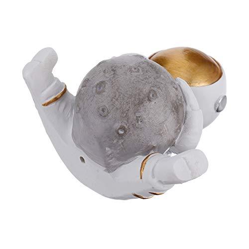 ABOOFAN Resina Astronauta Figura Desktop Display Astronauta Estátua Espaço Sideral Pessoas Figura de Ação Mini Astronauta Arte Colecionável para Mesa Prateleira