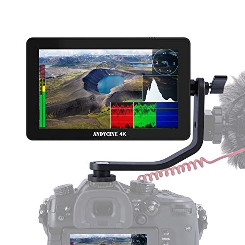 ANDYCINE A6 Plus 5.5inch Touch IPS 1920X1080 4K HDMI Camera Monitor 3D Lut,Waveform, Camera Video Field Monitor(v2 Upgrade Version)