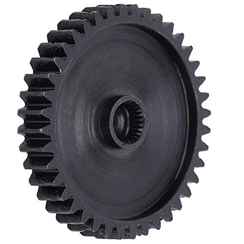 Placa de Cadena de Rodillos, piñón de Placa de Alta precisión de 40 Dientes, 4307-1025-0040 Negro para Control Industrial de la Industria automatizada de Robots industriales