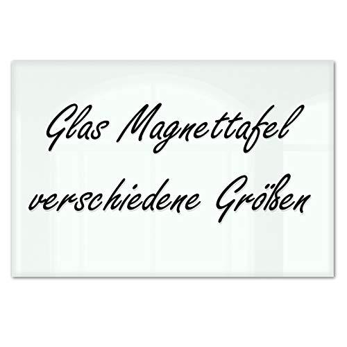 Master of Boards® Glas Magnettafel Lissabon - 5 Größen wählbar - 30x45cm
