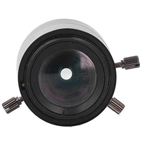 Sora Lente con Zoom, Lente CCTV fácil de Instalar, Longitud Focal Ajustable para Montura C de microscopio Industrial