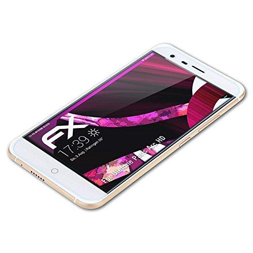 atFolix Glasfolie kompatibel mit Ulefone Paris Arc HD Panzerfolie, 9H Hybrid-Glass FX Schutzpanzer Folie
