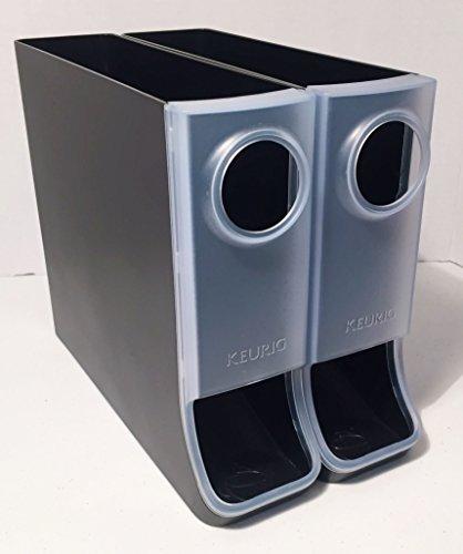 Keurig 5092 K-Cup Storage Dispenser, Black/Clear
