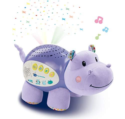VTech Baby - Proyector Musical POPI Estrellitas, Color púrpura, versión española (80-180922)