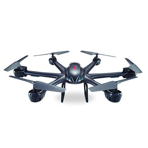 Fm-electrics MJX X600 Hexacopter avec portée de 300 m, Fonction Looping, Mode Heasle Come Home, XXL, Blanc
