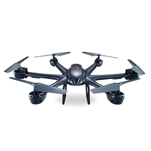 Electrics MJX X600 FM – Hexacopter avec Fonction 300 m de portée, LOOPING, heasle Mode, Come Home, XXL, Blanc