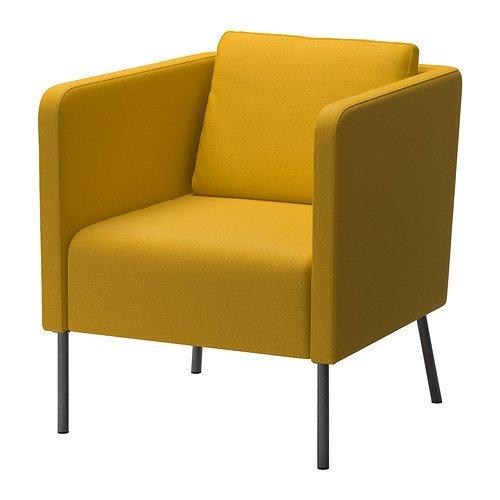 Ikea EKERO - Armchair Skiftebo Yellow