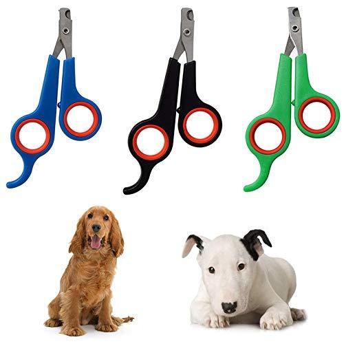 XIAOHUTAO Katzenhundepflege Nagel, Clippers Haustier Nagel, Clippers Edelstahl Hunde Katzen Klauen Nagel, 03, M. AA