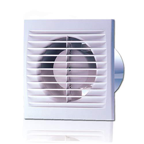 Lüfter Ventilator Bad WC Timer 100mm 95m³h Gleitlager