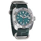 Vostok Amphibian Automatic Self-Winding Russian Military Wristwatch #710059 (Camo: Digital Green)