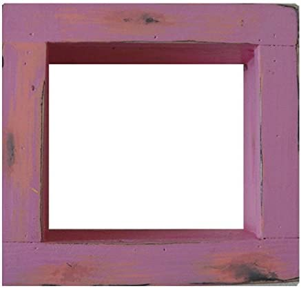 Square Wood OFFer Wooden Shadow Many popular brands Box Display - Pink Hot x Dec 6