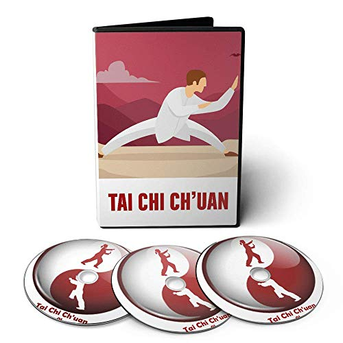Curso de Tai Chi Chuan em 03 DVDs Videoaula + Apostilas Digitais + Músicas