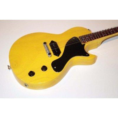 MICK JONES Miniatur Gitarre Gibson Les Paul Junior CLASH
