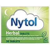 Nytol Herbal Tablets - Traditional Herbal Remedy Used for Sleeplessness Relief - 30 Tablets