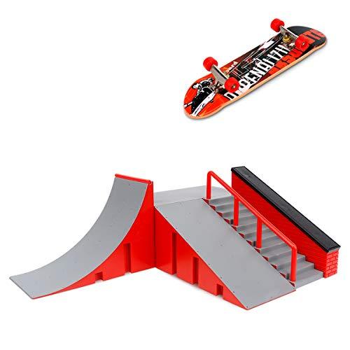 skateboard per dita CS COSDDI Mini Skateboard per Dita con rampa e Set di Accessori