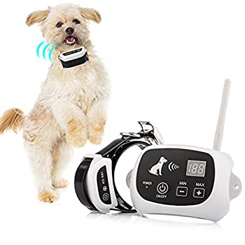 Pawpular Wireless Dog Fence,Invisible Pet Containment System for Yards,Boundary Training Collar,IP67 Waterproof Wireless Fence,Adjustable Pet Training Collar Receiver,Harmless of Dogs