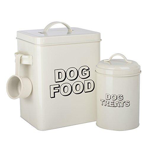 Caja de almacenamiento para comida de perros de estilo vintage clásicoCrazyGadget® decolor...