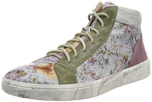 Think! Damen TURNA_484047 Hohe Sneaker, Grau (Marble/Kombi 13), 39.5 EU
